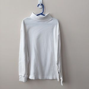Gap Boy's White Turtleneck Size Medium (7-8) Years